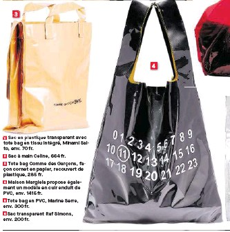 Plastique Env 1 Main Avec En 3 Minami 2 664 Intégré Celine To Transparent Tissu Tote Fr Garçons Des Comme Sac Bag 70 À Saifade nnErWx47