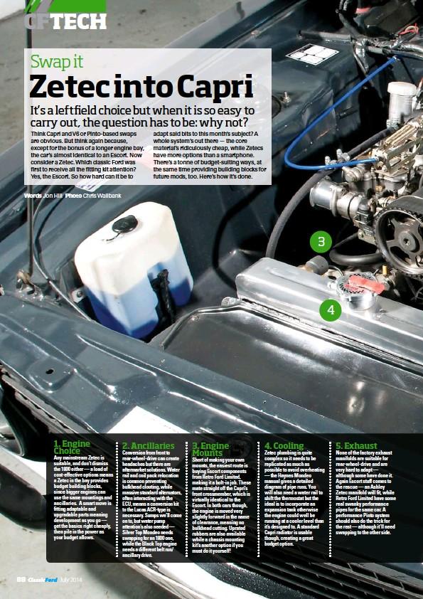 Pressreader Classic Ford 2014 05 23 Swap It Zetec Into Capri
