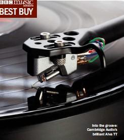 ??  ?? Into the groove: Cambridge Audio's brilliant Alva TT