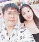 ??  ?? 郭連傑與妻子如今在丹諾定居。