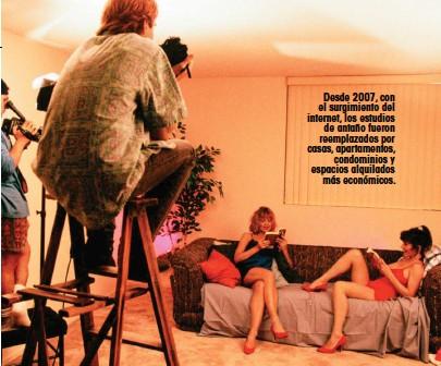 ??  ?? Desde 2007, con el surgimiento del internet, los estudios de antaño fueron reemplazados por casas, apartamentos, condominios y espacios alquilados más económicos.