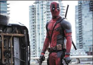 ??  ?? Ryan Reynolds in Deadpool (Saturday, Channel 4, 9p.m.)