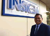 ??  ?? National Entrepreneurship Institute chief executive officer Muhd Firdaus Azharuddin says the institute helps companies change their business model and get listed on Bursa Malaysia.