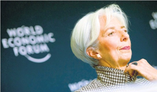 ?? EFE ?? Christine Lagarde fue la encargada de negociar con Macri.