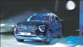 ?? BLOOMBERG ?? With the introduction of Venue in 2019 and second-generation Creta in 2020, Hyundai managed to eclipse Maruti Suzuki and M&M to become the leading manufacturer of SUVs.