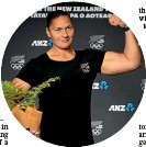 ??  ?? Shot putter Dame Valerie Adams will be muscling in on her fifth Olympics.