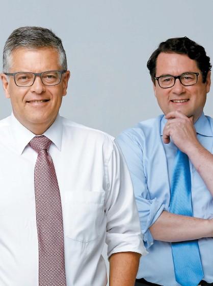 ??  ?? Paul Larocque et Bernard Drainville se retrouveront à l'émission La Joute à LCN.