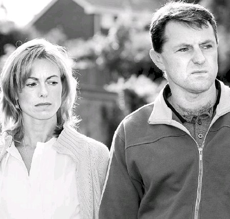 ??  ?? STILL SEARCHING: The torment continues for Kate and Gerry as Portuguese detectives remain convinced of their guilt