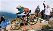 ??  ?? HIGH HOPES: Mountain biking at Fort William and athletics at Scotstoun are on the agenda.