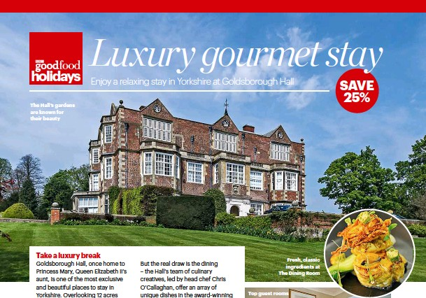 Luxury Gourmet Stay Pressreader