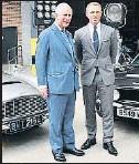?? THEROYALFAMILY/INSTAGRAM ?? El príncipe Carlos y Daniel Craig