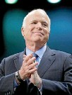 ?? PHOTO: REUTERS ?? US Senator John McCain (R-AZ) has been diagnosed with a deadly form of brain cancer.
