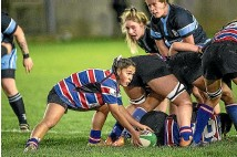 ?? WARWICK SMITH/STUFF ?? Halfback Lucy Brown will be a key player for Feilding Old Boys-o¯roua this season.