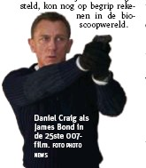 ?? NEWS FOTO PHOTO ?? Daniel Craig als James Bond in de 25ste 007film.