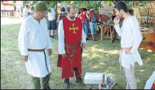 ??  ?? Grande fête médiévale à Grand Selve