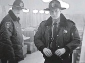 ?? CHRIS LARGE, FX ?? Hank (Ted Danson) and Lou (Patrick Wilson) come to Fargo.