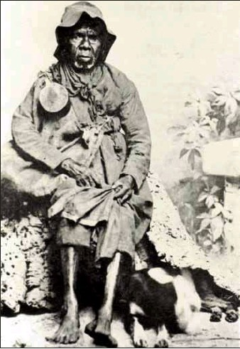 ?? PHOTO: Wangaratta Historical Society ?? FIRST SETTLERS: The Pangerang tribe called the area of Milawa home. This is Mary Jane Milawa of the Pangerang People.