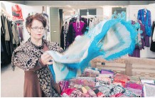 ?? ADAM GAGNON ?? Audrey Marriott, owner of The Wardrobe in Stratford, Ont., took her store online and saw revenue climb.
