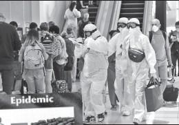 ??  ?? Карта «Эпидемия», предсказавшая нынешнюю пандемию