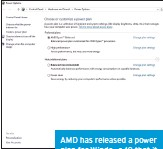 ??  ?? AMD has released a power plan for Windows 10 that it claims can bump gaming performance from 2 percent to 21 percent