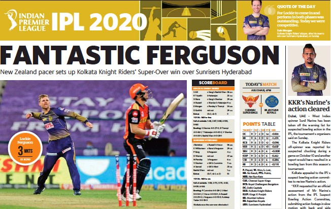 ?? (Kolkata won the one-over eliminator) VS TEAMS P W L NR PTS NRR ??