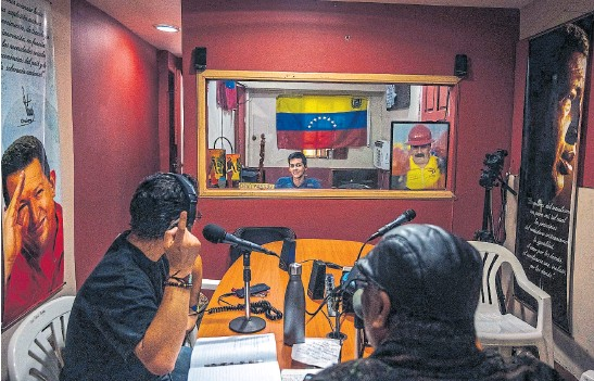 ?? Nyt ?? La estación de radio de Osvaldo Rivero, que pasó de ser oficialista a perseguido