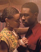 """?? TAKASHI SEIDA ?? Billie (Andra Day) falls for Jimmy (Trevante Rhodes), who infiltrates the singer's inner circle, in """"The United States vs. Billie Holiday."""""""