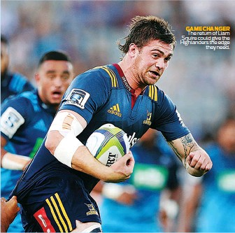 ??  ?? GAME CHANGER The return of Liam Squire could give the Highlanders the edge they need.