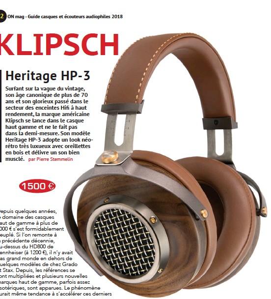 Pressreader On Magazine 2018 02 23 Klipsch Hp 3