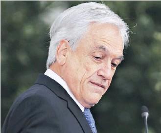 ??  ?? La multa se aplicó luego de que el Presidente Piñera se autodenunciara por andar sin mascarilla en paseo en la playa.