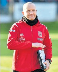 ??  ?? Proud: Locos boss Andy Low praised his players' attitude towards the club's situation during outbreak
