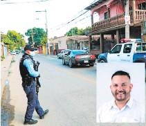 ?? FOTO: EL HERALDO ?? Rafael Brevé fue privado de su libertad ayer en San Pedro Sula cuando se conducía en su vehículo.