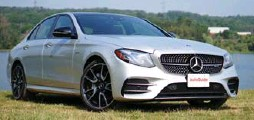 ?? JODI LAI PHOTOS/AUTOGUIDE.COM ?? The 2017 Mercedes-Benz E43 AMG's engine outputs 396 horsepower and 384 pound-feet of torque, which helps it rocket to 100 km/h in 4.6 seconds.