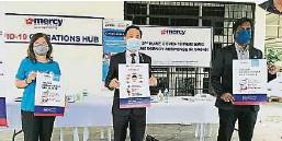 ??  ?? 鉴于冠病疫情对沙巴各阶层带来严重的影响,马来西亚医疗援助协会(MERCY)沙巴分会推出首个专为儿童提供的心理支援热线。