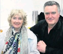 ??  ?? Loved one John Nicolson with his mum Marion
