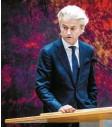 ?? Fotos: dpa ?? In den Niederlanden strebt Ministerprä‰ sident Mark Rutte (oben) eine vierte Amtszeit an. Im Wahlkampf setzt ihm aber Geert Wilders zu.