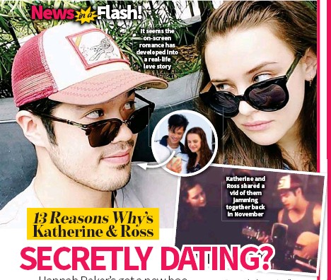 Who is dating from 13 reasons why in real life