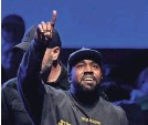 """?? KEVIN WINTER/GETTY IMAGES FOR ABA ?? Kanye West's """"Jesus Is King."""""""