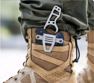 ??  ?? A tough small fixed-blade knife, like First Tactical's Scorpion, ought to be a part of all EDC load-outs. With carry options that range from your boots to your belt, pack and neck, you're sure to find just the right spot to carry this blade.