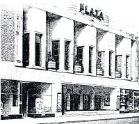 ??  ?? Plaza cinema, 1930s