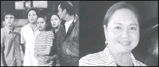 """??  ?? Charo Santos-Concio will be part of Judy Ann Santos' upcoming teleserye """"Starla,"""" which marks their reunion after 19 years. Charo played Judy Ann's mother in the late '90s drama """"Esperanza."""" (Left frame) A screenshot of """"Esperanza: The Movie"""" with Marvin Agustin, Charo, Angelika dela Cruz, Judy Ann, and Dante Rivero. Marvin and Angelika were Charo's two other children while Dante played her husband."""