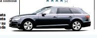 ??  ?? El A4 Avant tiene una silueta atemporal. Es inmediatamente reconocible como un Audi y su diseño apenas se pasa de moda