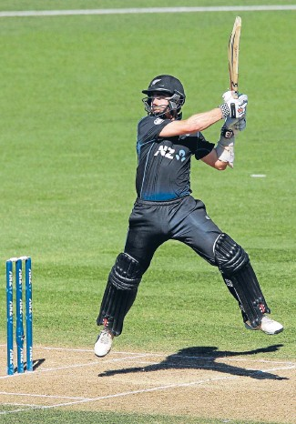 ?? Photo: GETTY IMAGES ?? Kaning them: New Zealand batting star Kane Williamson on his way to his sixth ODI century yesterday. .