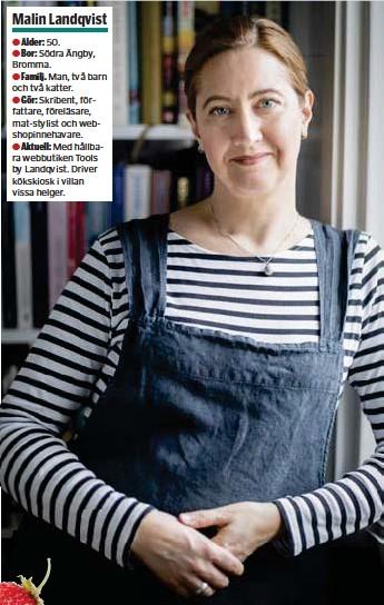 """?? FOTO: PER RANUNG, MOSTPHOTOS ?? """"THE QUEEN"""". Malin Landqvist utnämner smultronet till naturens drottning."""