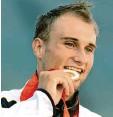 ?? Foto:imago ?? 2008 bei den Spielen in Peking räumte der Augsburger Alexander Grimm Gold ab.