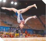 ??  ?? Sunisa Lee se apoderó del cetro de la gimnasia olímpica.