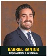 ??  ?? GABRIEL SANTOS Representante a la Cámara