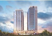 ??  ?? The Dale is a high-end rental project across from Tunney's Pasture that will feature two towers.