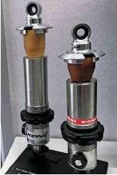 ??  ?? Koni is the number one supplier of F1 dampers.