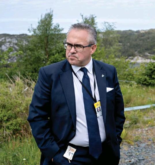 ?? TOR HØVIK ?? Ordfører i Øygarden kommune, Tom Georg Indrevik (H), forteller at kommunestyret har hatt lite å gjøre med saken frem til nå.